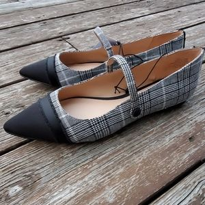 Who What Wear Houndstooth Flats 8